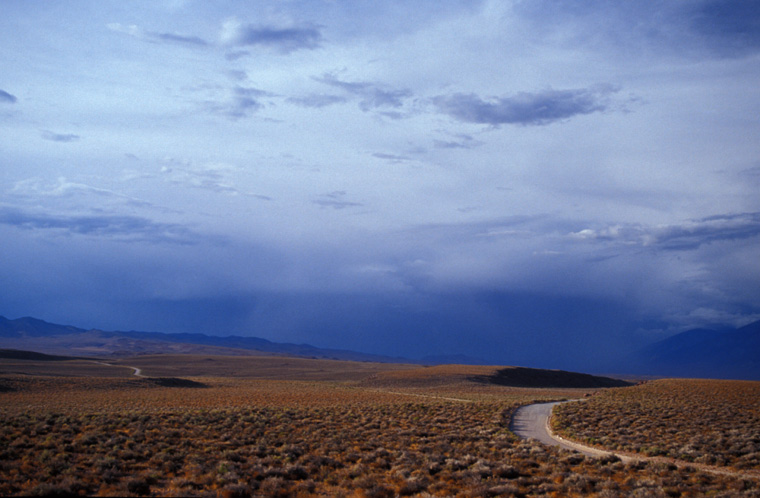 Clearing Storm over the Owens Valley Tablelands