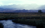 The Owens River and the Sierra Nevada